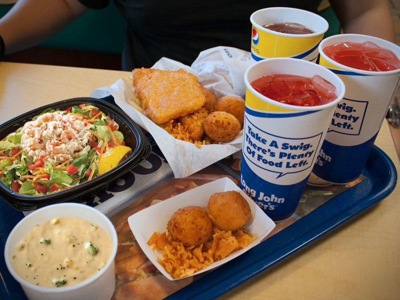 May 27,  · Here is the fast food menu information for Long John Silvers which includes the total calories and grams of fat, carbs and protein for their foods.